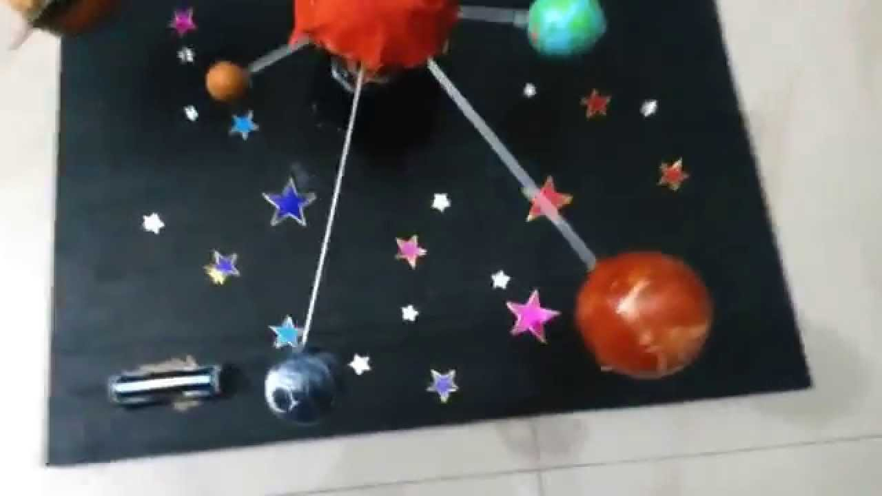Solar System - 9 Planets - Science Projects - YouTube