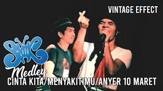 Slank - Cinta Kita, Menyakitimu & Anyer 10 Maret (Live Medley)