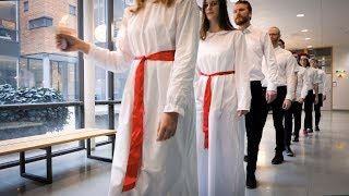 Lucia at Linkoping University