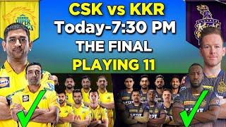 IPL 2021 | CSK vs KKR  Playing 11 | CSK Playing 11 2021 |  KKR Playing 11 2021