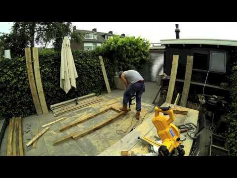 Norner   Scaffold Board Furniture - big Corner- Lounge-Garden-Sofa