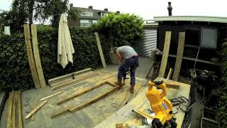 Norner | Scaffold Board Furniture - Big Corner- Lounge-garden-sofa