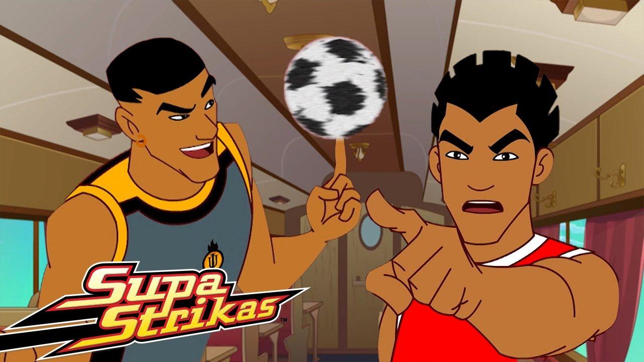 Download Supa Strikas in Hindi | Season 3 - Episode 12 | रेल का सफारी | Shakes on a Train | हिंदी कार्टून