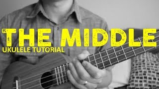 The Middle - Zedd, Maren Morris, Grey - EASY Ukulele Tutorial - Chords - How To Play Video