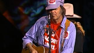 Neil Young - Four Strong Winds (Live at Farm Aid 1997)