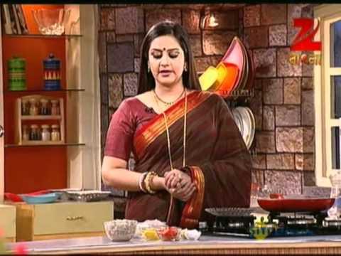 Rannaghor - Zee Bangla Food Recipe - June 19 '12 - Cooking Show Tv Serial - Best Scene