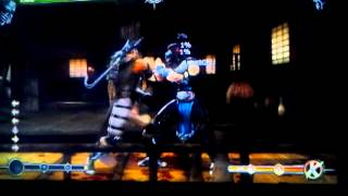 Mortal kombat 9-Practicing Kabal gas blast n ndc