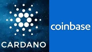 cardano coinbase add coming soon with ada price skyrocket