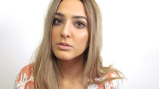 GRWM: Summery Gold Makeup & ootd