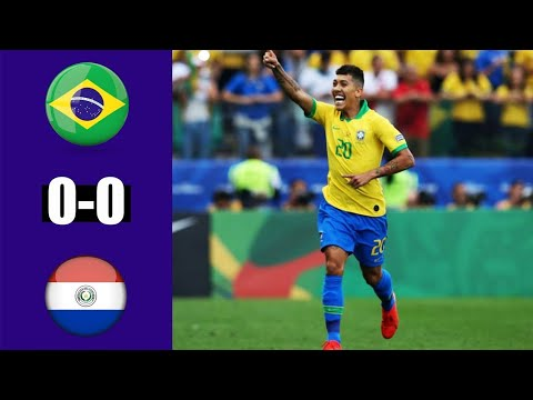 Brazil Vs Paraguay All Goals And Highlights | First Half | Copa America 2019 #brazil_vs_paraguay