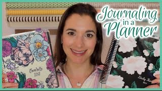 Journaling on the Daily in a Planner | Spring 2017