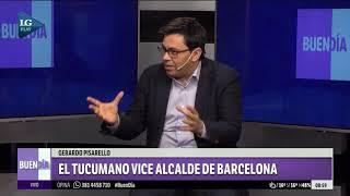 Gerardo Pisarello: el tucumano vice alcalde de Barcelona