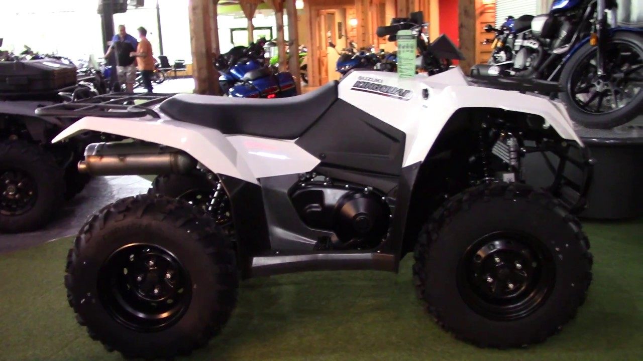 2019 Suzuki King Quad 400 4x4 ASI - New ATV For Sale - Medina, Ohio