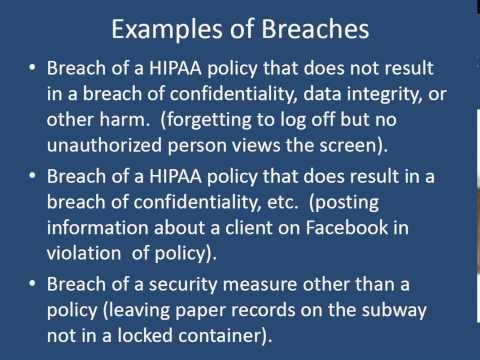 2013 03 13 Health Insurance Portability And Accountability Act HIPAA