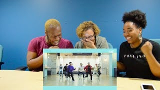 DANCERS REACT TO PENTAGON-SHINE DANCE PRACTICE