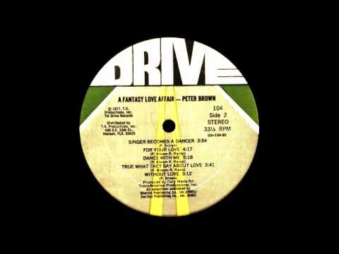 Peter Brown ft Betty Wright - Dance With Me (Drive Records 1978)