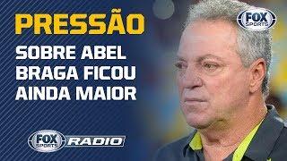 Torcida do Flamengo exagera em pedir saída de Abel Braga?
