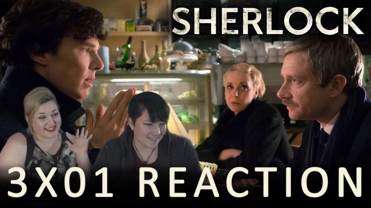 Download Sherlock 3X01 THE EMPTY HEARSE Pt. 1 reaction