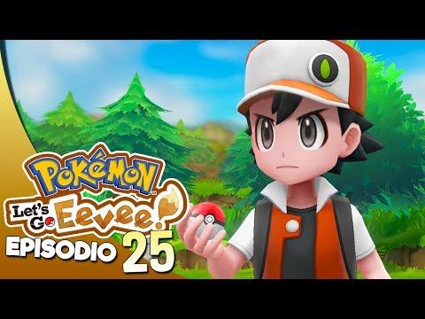 LA SFIDA FINALE CON ROSSO - Pokémon Let's Go Eevee ITA #25