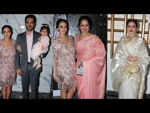 Hema Malini's celebrates her 70th birthday with daughter Esha Deol and freinds