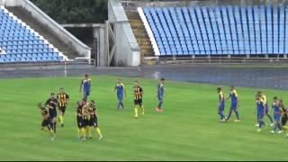 Курйозний гол Буковина - Тернопіль 9.07.2016 1 тайм