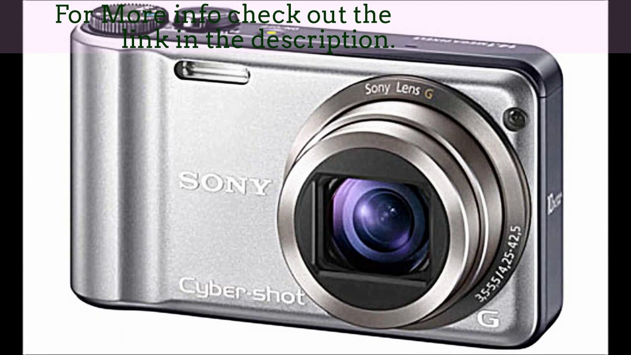 sony cyber shot dsc h55 14 1mp digital camera preview review youtube rh youtube com sony cyber shot dsc h55 manual notice sony cyber shot dsc h55