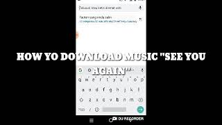 """How To Download Music """"See You Again"""""""