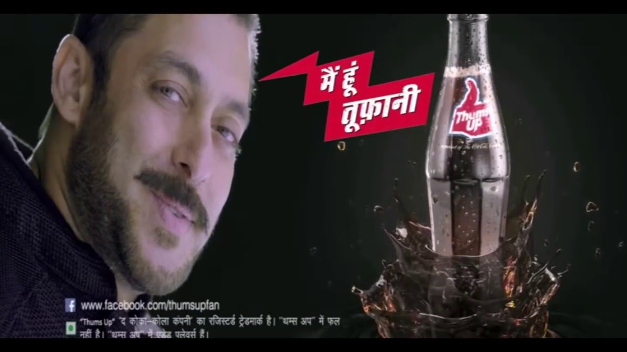 thums up ad main hoon toofani salman khan youtube