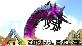 ark survival evolved epic deathworm taming e18 modded ark pugnacia dinos