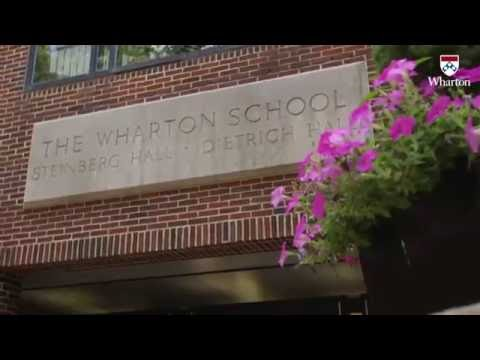 Campus Tour of the Wharton School in Philadelphia