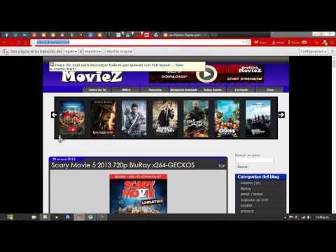 Como Descargar una Pelicula Gratis: Paginas para Descargar Peliculas en HD