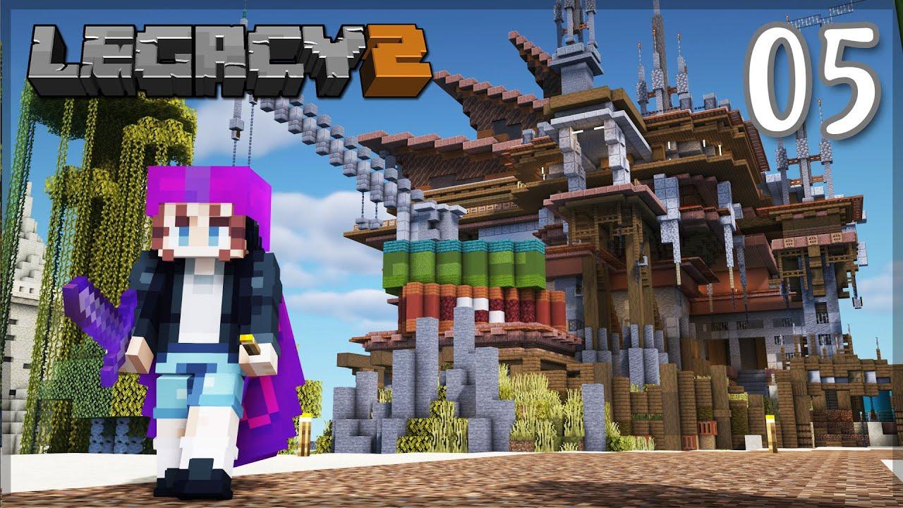 HUGE Base Expansion! Phantom Dragon? | LegacySMP: Episode 5 | Minecraft 1.16 Survival Let's Play