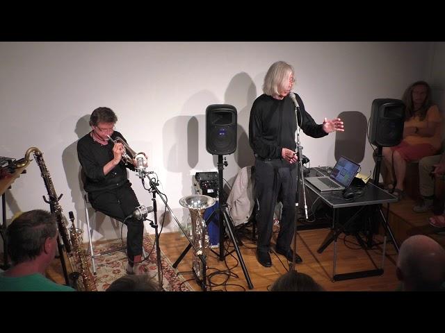 Jaap Blonk und Udo Schindler 84.Salon 2