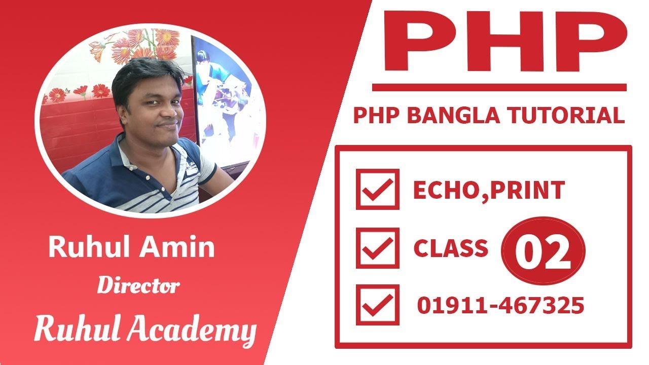 Php & html5 websocket tutorial echo server by anhvnse02067.