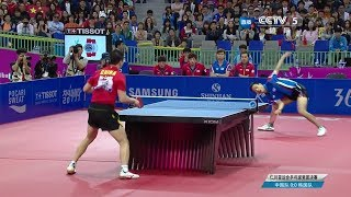 Ma Long vs Joo Se Hyuk (Asian Games) Team Final