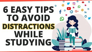 How to avoid distraction while studying?   Smart study techniques  ExamTips   Letstute Accountancy
