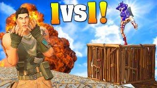 1V1 VERSUS MY BROTHER ON FORTNITE! (Playground LTM Funny Moments) Ninja Memes, Build Battles, Fails!