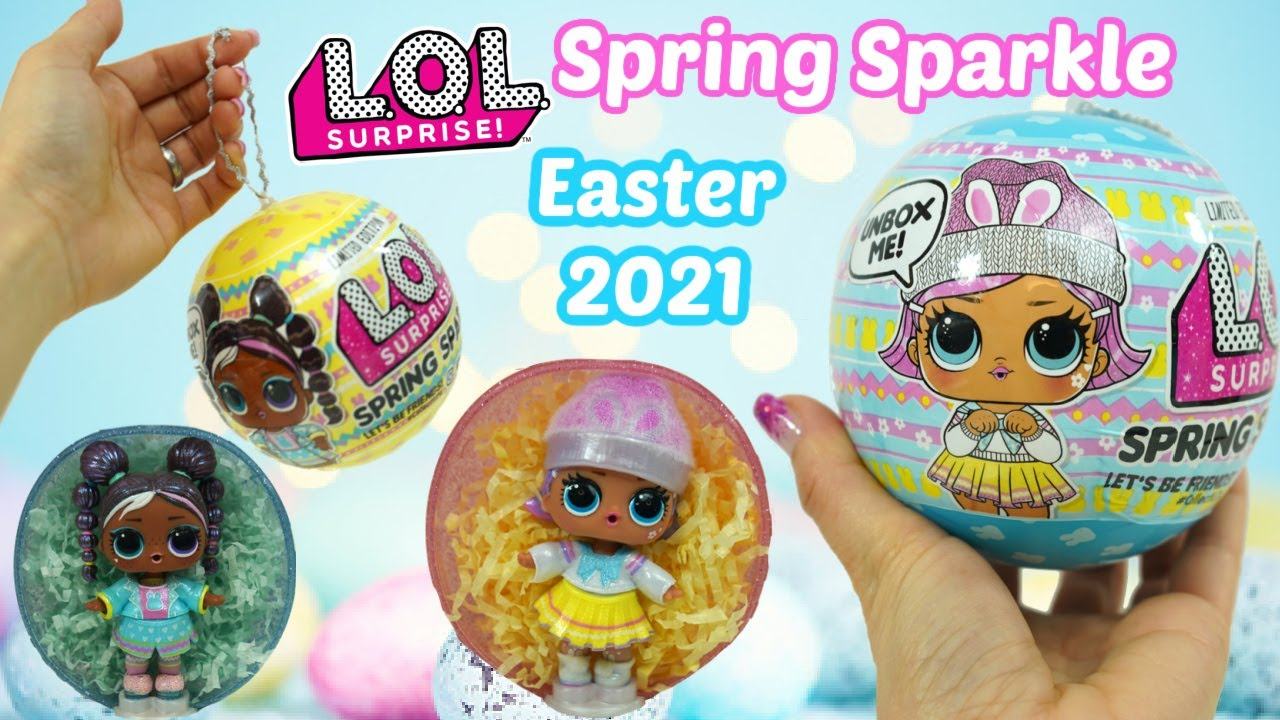 LOL Surprise 2021 LIMITED EDITION Spring Sparkle Bunny Hun Figure Pack MGA  Entertainment - ToyWiz