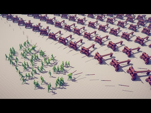 100 INFECTIOUS ZOMBIES Vs 100x EVERY RANGED UNITS - Totally Accurate Battle Simulator TABS