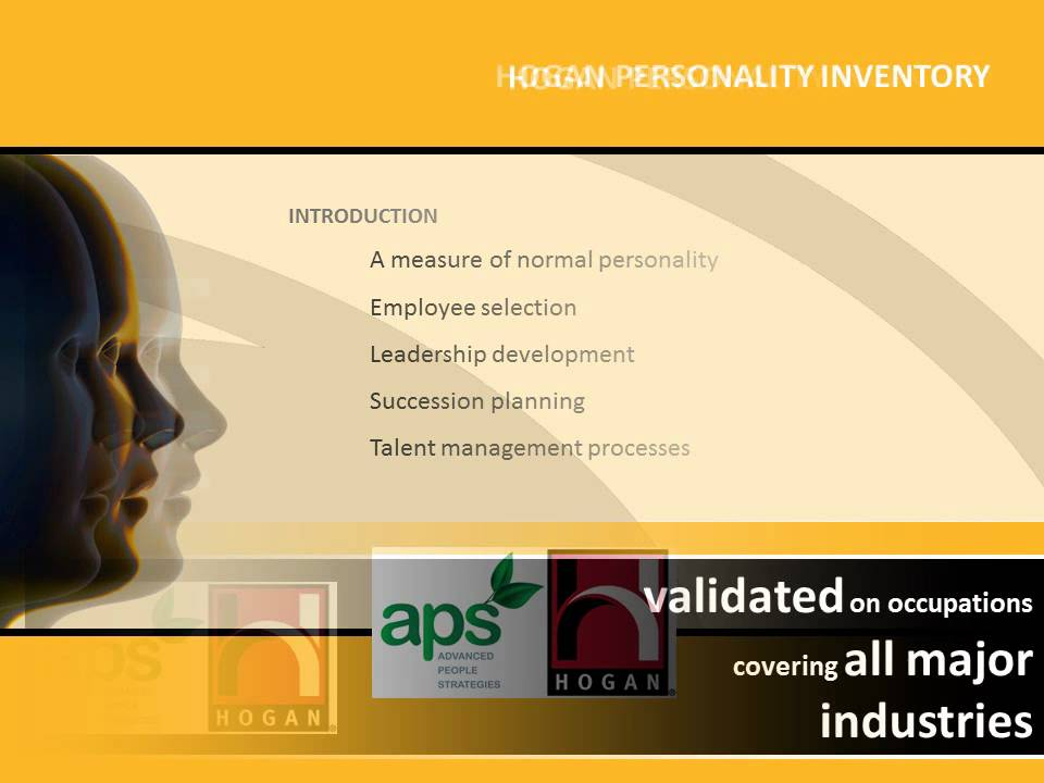 Hogan Personality Inventory (HPI) - Hogan Assessments - YouTube