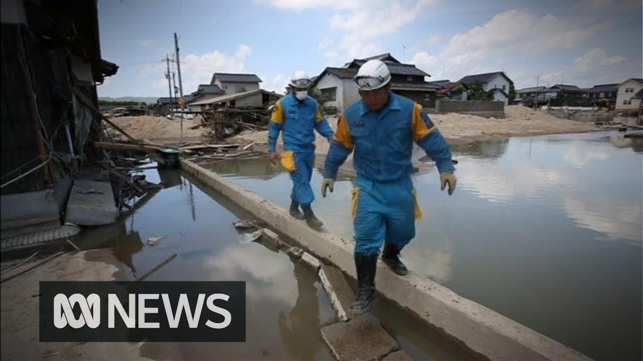 Japan floods: Death toll climbs above 150
