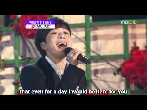 [Engsub] By Your Side - Jo Sung Mo (Live).avi