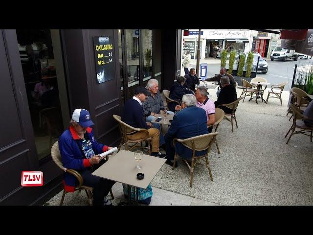 Luçon : la joie de retrouver les terrasses des cafés !