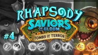 Let's Play Hearthstone Tombs of Terror: Chapter 2   Finley's Trusty Steed - Episode 4