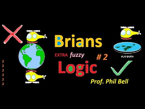 This is the 2nd covering flat Earther Brians Logic assertions made on Ranty Flat Earth Channel. thumbnail