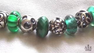 My Entire Trollbeads Collection as of May 2017 pt2