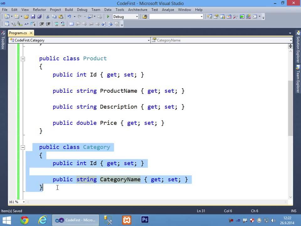 Entity Framework Code First ile Veritabanı İşlemleri