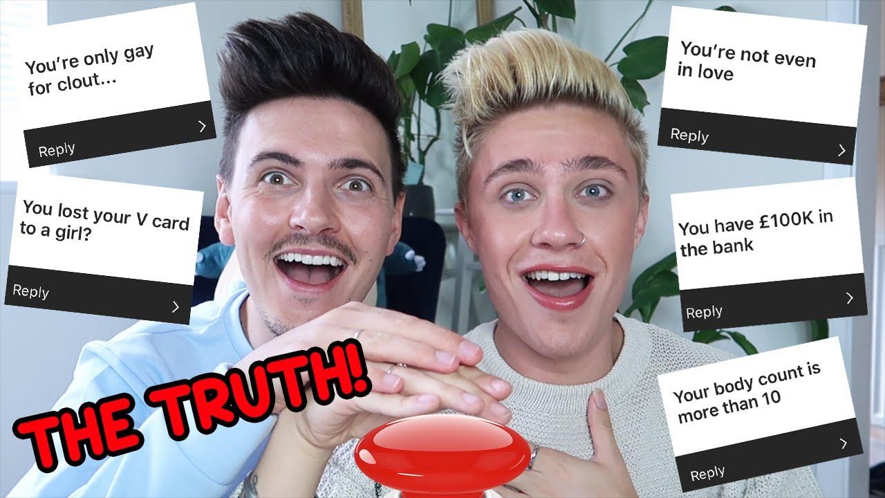 WE'RE NOT EVEN GAY? 😱 | QUICK FIRE ASSUMPTIONS
