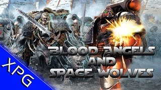 Dawn of War Ultimate Apocalypse Mod! Space Wolves and Blood Ravens Vs Chaos Space Marines