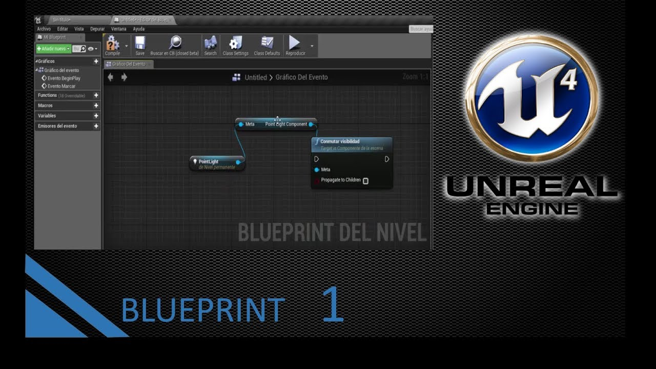 Introduccin a blueprints unreal engine 4 1 youtube introduccin a blueprints unreal engine 4 1 malvernweather Image collections